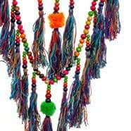 EXTRA LARGE Crochet Beaded Rainbow Dreamcatcher
